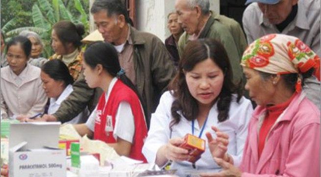 Bộ Y tế kịp thời cấp 60 cơ số thuốc cho vùng lũ