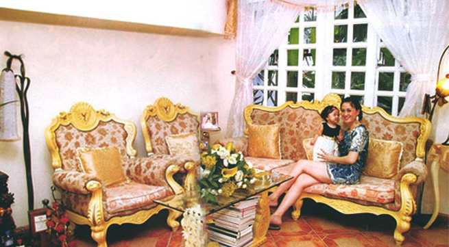 Biệt thự 150 m² của hoa hậu Đàm Lưu Ly