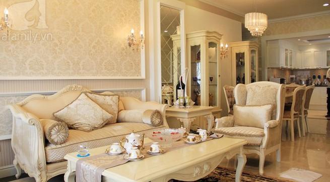 Mê mẩn căn hộ mang phong cách hoàng gia ở Sài Gòn