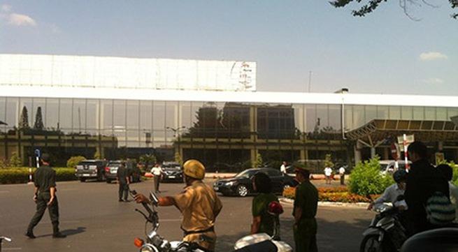 Tăng cường an ninh tại sân bay Tân Sơn Nhất