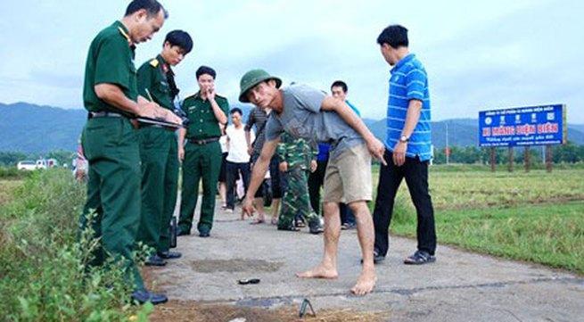 7 chiến sĩ bị sét đánh khi đang hành quân