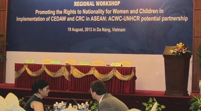 Đảm bảo quyền có quốc tịch của phụ nữ và trẻ em Asean