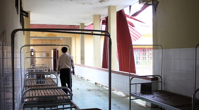 Bệnh viện Đa khoa Minh Hóa: Tan hoang sau bão lũ