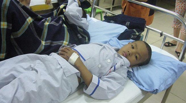 Hơn 12 triệu đồng đã được chuyển đến với bé 9 tuổi bị u máu