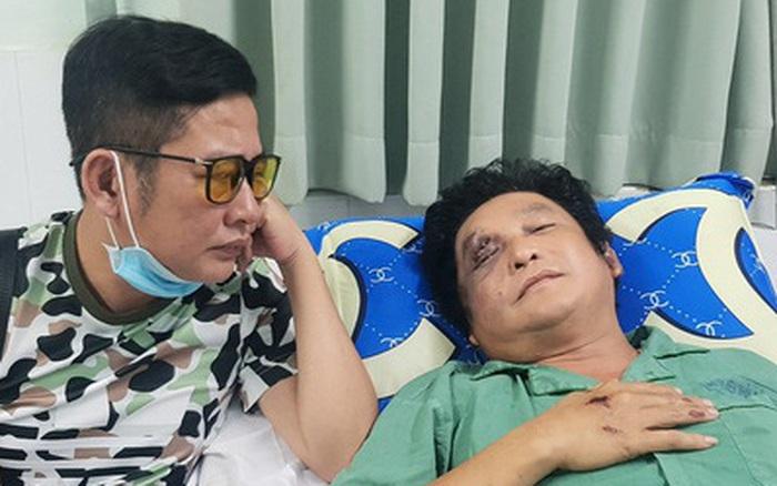 Nghệ sĩ Trọng Phúc bị tai nạn, chấn thương mặt và vai