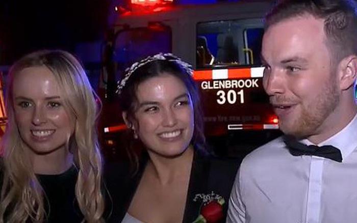 Cặp vợ chồng Australia bị cháy nhà trong ngày cưới