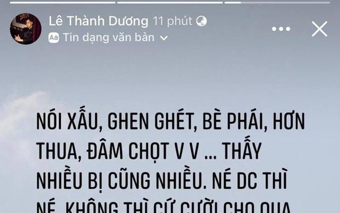 Ngô Kiến Huy bỗng đăng status 'đá xéo' ai đó ghen ghét, bè phái giữa lúc dàn sao Running Man Việt mùa 2...