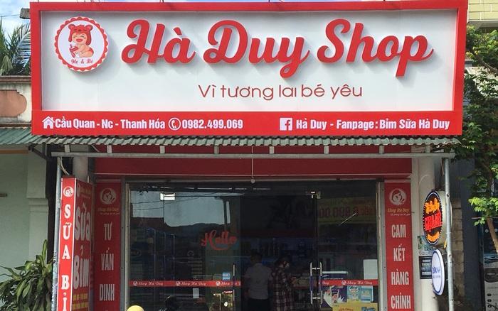 Shop Hà Duy – Địa điểm không thể bỏ qua của mẹ và bé