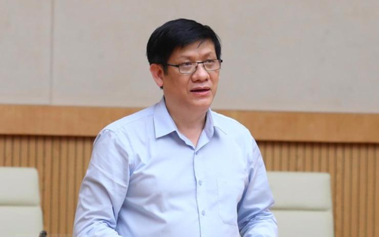 Bộ trưởng Bộ Y tế Nguyễn Thanh Long. Ảnh: VGP